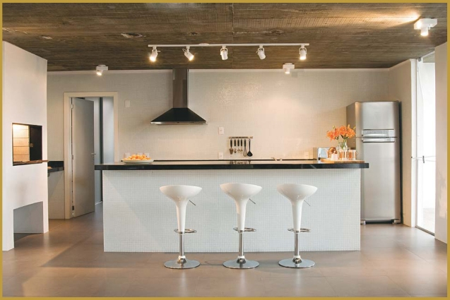 iluminação direta spot spots cozinha eurolume