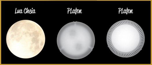 lua cheia plafon