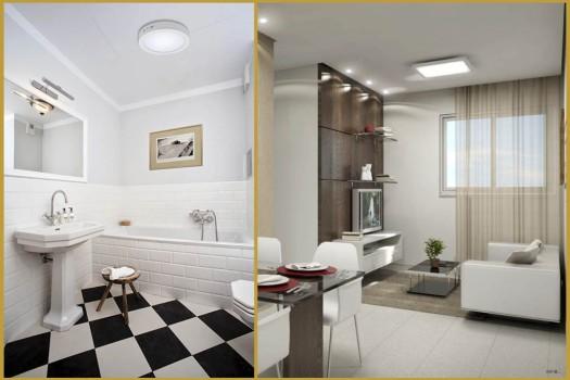 iluminação de teto - plafons - blog eurolume